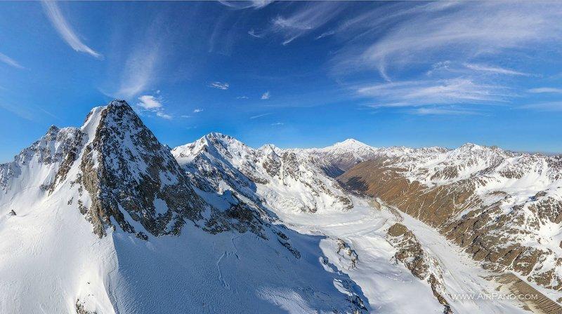 Гора Джан-Туган, высота 4012 метров