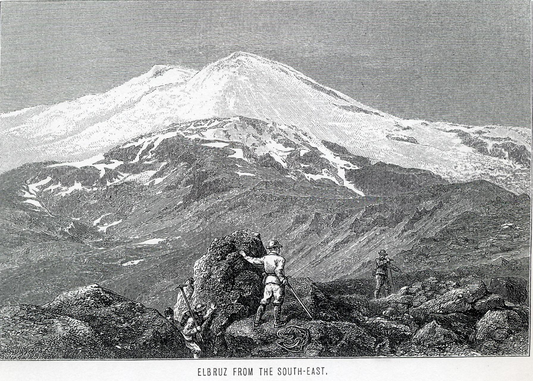 Эльбрус с Юго-Востока